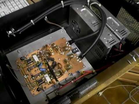 700W FM broadcast RF amplifier with 2x BLF278 FET