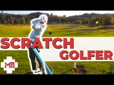 """Scratch Golfer"" Lesson On Path and Swing Direction"
