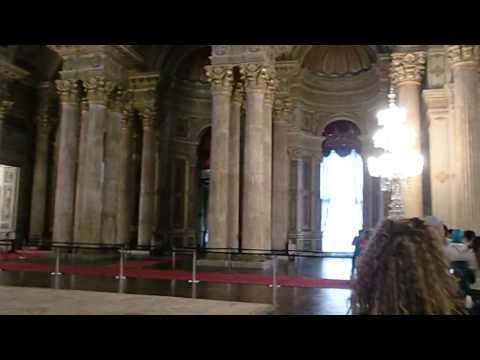 Dolmabahçe Sarayın içinde gizli çekim, Istanbul Turkiye - Turkey HD (Inside Dolmabahce Palace