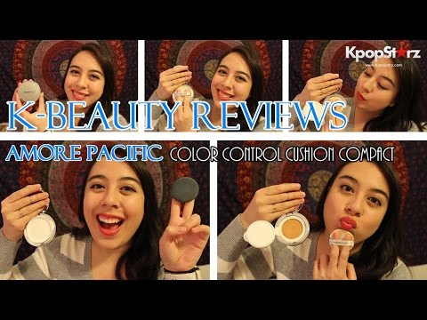 Video K-Beauty Review: AMORE PACIFIC Color Control Cushion Compact download in MP3, 3GP, MP4, WEBM, AVI, FLV January 2017