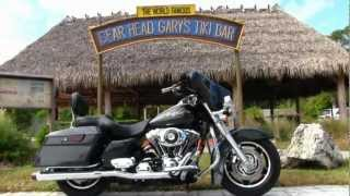 9. 2006 Harley-Davidson FLHX Street Glide with Rinehart True Duals