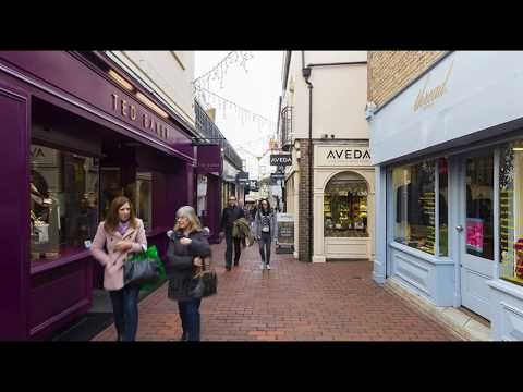 Travel Guide My Holiday To Brighton Town Centre East Sussex UK Review