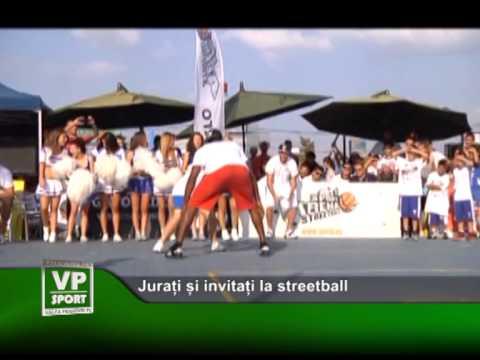 Jurați și invitați la streetball