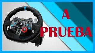 Volante PS4 Logitech G29 PS4 2019 //REVIEW en Español