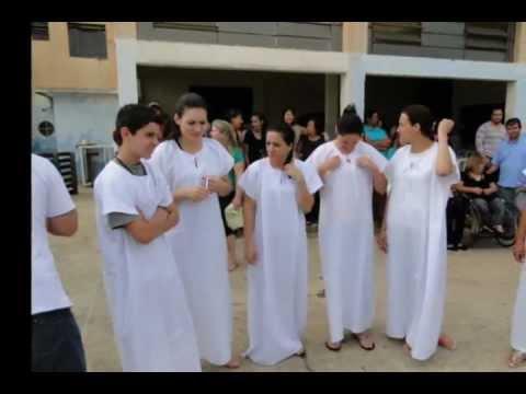 Batismo 2012- Metodista Joaquim Távora PR