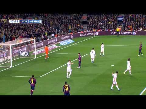 le migliori azioni di neymar contro il real madrid 22/03/2015