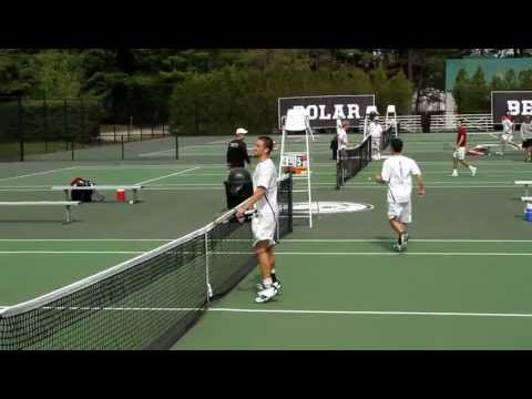 Men's Tennis Clinches Spot in NCAA Quarterfinals