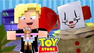 IT THE CLOWN AND THE EVIL KID HAVE TEAMED UP | Minecraft Little Kelly