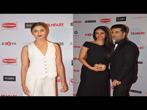 Alia Bhatt, Karan Johar & More Celebs At Red Carpet Of  Filmfare Pre-Awards