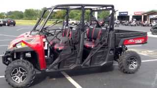 8. 2014 Polaris Ranger 900 Crew Sunset Red