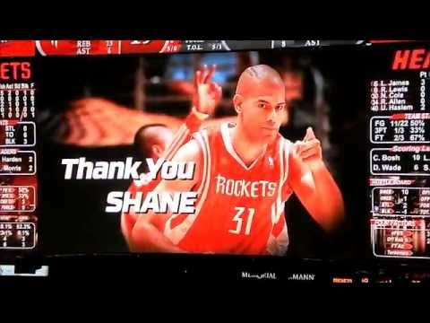 Houston Rockets Shane Battier Tribute Video