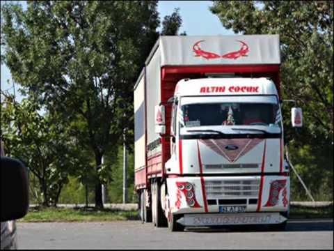 aksesuarlı tırlar ve kamyonlar
