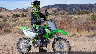 4. 2018 Kawasaki KLX110 Review