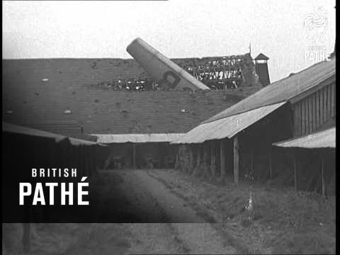 Tragic Fate Of Air Liner Aka Airliner Wrecked At Ostend (1937)