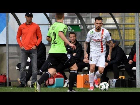 27. forduló: Haladás - DVTK 2-0 (1-0)