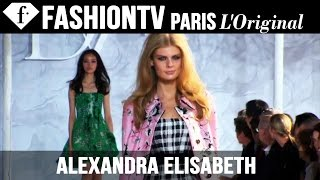 Model Alexandra Elisabeth | Beauty Trends for Spring/Summer 2015 | FashionTV