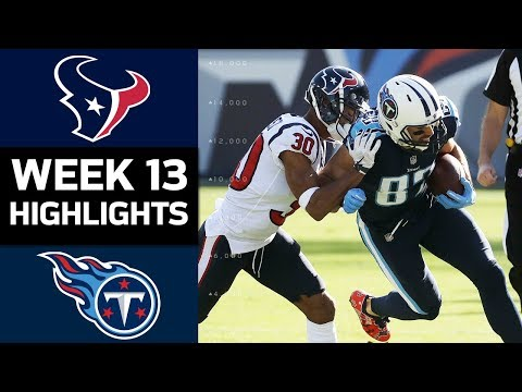 Video: Texans vs. Titans | NFL Week 13 Game Highlights