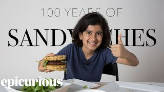 Kids Try 100 Years of Sandwiches from 1900 to 2000   Bon Appetit