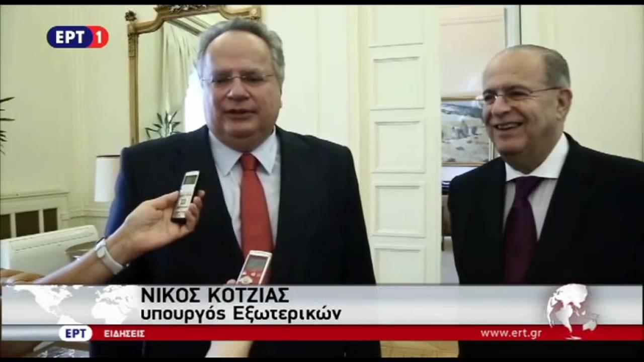 Συνομιλίες Ν. Κοτζιά – Ι. Κασουλίδη για το Κυπριακό