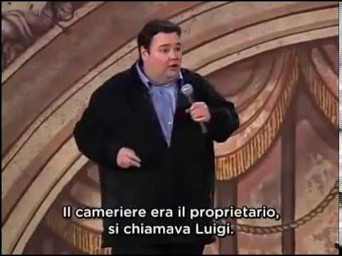 John Pinette in Italia (2005) | SUB ITA