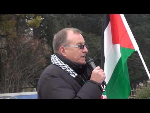Rassemblement pour Gaza 17 nov 2012 - 1ere Partie