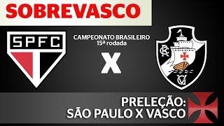 No vídeo de hoje, as expectativas e as informações sobre o confronto entre São Paulo e Vasco pela 15ª rodada do campeonato brasileiro 2017. Confere aí!curta nossa Fan-page no Facebook: http://facebook.com/sobrevascoentre no nosso grupo fechado no Facebook: https://www.facebook.com/groups/576873982492588siga nosso twitter: http://twitter.com/sobrevascoentre no nosso grupo no Telegram: https://telegram.me/SobreVasco