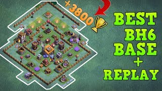 Clash of Clans Best Builder hall 6 (BH6 Base) Anti 3 Star / Anti 2 Star Base Layout / Builder Hall 6 Anti dragon / Anti Minions [Air attacks] / BH6 Trophy Push Base / Trool Bases / shown Defensive Replay / Max Base / New Update 2017 Clash of Clans Builder Base Layout / Night Village. This Base created after the Update of Roaster and Night Witch. Bases done after CoC Versus Battle Update with New Troops and Buildings like Crusher, Multi Mortar, Push Trap, Cannon Cart, Bomber, Battle Machine aka New Hero, Gem Mine, Clock Tower, NEW ROASTER etc.This is the Best and strongest BH6 Builder Base 6 2017, Using this base design your base will never get 3 star this is also an Trophy Pushing Base for Builder Base 6. Trophy over 3800+.Replay shown in video is Battle with all troops, including Raged Barbarian, Sneaky Archer, Boxer Giant, Bomber, Dragon, NIGHT WITCH UPDATEIf you guys want 3 Star Attack Strategy for BH6 then let me know in comment box below. And Above basees doesn't have ------------------------------------------------------➜ Bringing to you: Clash of Clans [CoC]  Attack Strategies and Raids  War Base layout  Farm Base layout  For Town Hall - TH7 TH8 TH9TH10 AND TH11  For BuilderHall –  BH3 BH4 BH5 BH6 BH7------------------- Thank You for Watching! ------------------➜ Please Like ,Share And Subscribe!!➜ Share: https://youtu.be/FvvnnUxNK8E➜ Subscribe: https://goo.gl/AWuJLF ----------------------------------------­­­---------------------------------➜ Builder Hall 6 Base [BH6 Builder Base] Clash of Clanshttps://goo.gl/F5avxW ----------------------------------------­­­---------------------------------➜ How to 3 Star Popular Builder Base 5 [BH5]https://youtu.be/X1P3NHJu_u0----------------------------------------­­­---------------------------------➜ How to 3 Star Popular Builder Base 4 [BH4]https://youtu.be/o-e-yIPfG1U----------------------------------------­­­---------------------------------➜ Builder Hall 5 Base [BH5 Builder Base] Clash of Clanshttps://goo.gl/ZyQgy6 ----------------------------------------­­­---------------------------------➜ Builder Hall 4 Base [BH4 Builder Base] Clash of Clans https://goo.gl/kTviSh ----------------------------------------­­­---------------------------------➜ Builder Hall 3 Base [BH3 Builder Base] Clash of Clans https://goo.gl/NslbTB ----------------------------------------­­­---------------------------------➜ Town Hall 9 [TH9] Attack Strategy 2017 Clan Wars https://goo.gl/1KiO1Q ----------------------------------------­­­---------------------------------➜ Town Hall 9 [TH10] Attack Strategy 2017 Clan Wars https://goo.gl/fMPhNV ----------------------------------------­­­---------------------------------➜Town Hall 11 [TH11] Attack Strategy 2017 Clan Wars https://goo.gl/FB9Rbm ----------------------------------------­­­---------------------------------➜Clash of ClansClash of Clans is an online multiplayer game in which players build a community, train troops, and attack other players to earn gold and elixir, and Dark Elixir, which can be used to build defenses that protect the player from other players' attacks, and to train and upgrade troops. The game also features a pseudo-single player campaign in which the player must attack a series of fortified goblin villagesNew Features:● Journey to the Builder Base and discover new buildings and characters in a new mysterious world.● Battle with all new troops, including Raged Barbarian, Sneaky Archer, Boxer Giant, Bomber, Cannon Cart, and the new Hero Battle Machine.● Go head to head with other players in the new Versus battle mode.Category: GameInitial release date: August 2, 2012Mode: Massively multiplayer online gameGenre: Strategy Video Game.Platforms: Android, iOS.Publisher: SupercellDeveloper: Supercell----------------------------------------­­­---------------------------------➜Music:- NoCopyrightSoundsJanji - Heroes Tonight- http://youtube.com/watch?v=3nQNiWdeH2Q - NoCopyrightSoundDefqwop ft Strix  - Heart Afire (Original Mix)   https://soundcloud.com/defqwop ----------------------------------------­­­---------------------------------Finite Gamer