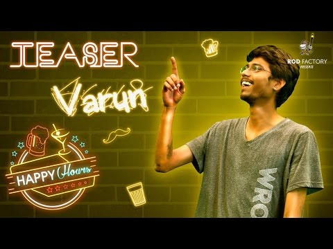 Varun Character Intro | Happy Hours | Telugu Web Series by Rod Factory
