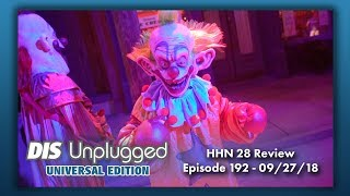 Halloween Horror Nights 28 Review | Universal Edition | 09/27/18