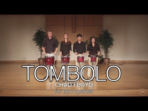 Tombolo For Percussion Ensemble By Chad Floyd, Campbellsville University Percussion Group