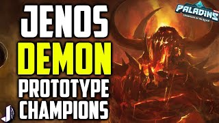 Paladins new champions have been revealed to be in the works from the latest OB54 datamines. With Jenos a support likely to be announced next patch show and Demon likely an SMG wielding flank & Survivor TBD. Also covered are a ranked 2.0 with tiers for skill levels and competitive rewards. Along with new skins. I talk about them all here. With Lian gameplay from OB54 PTS. Giving away Steam Demon Androxus, Realm Pack & Summer Chest - https://gleam.io/59532/1x-realm-pack-1x-androxus-steam-only-body-1-x-summer-chestSources : https://www.reddit.com/r/Paladins/comments/6lxgxs/quick_pts_datamining_new_champions_skins/& WInter https://pastebin.com/UW042fe6Follow me - https://twitter.com/JoshinoYTSupport Me - https://www.patreon.com/JoshinoCome chat - https://discordapp.com/invite/joshino