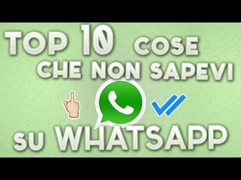 cose che non sapevi su whatsapp