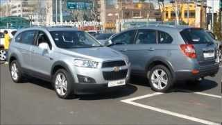 2012 Chevrolet Captiva Test Drive