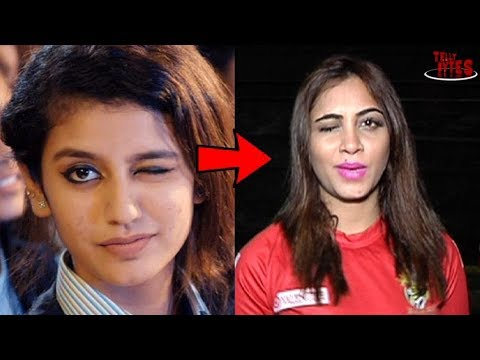 Arshi Khan React On Priya Prakash Varrier |