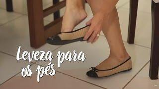 Leveza para os seus pés