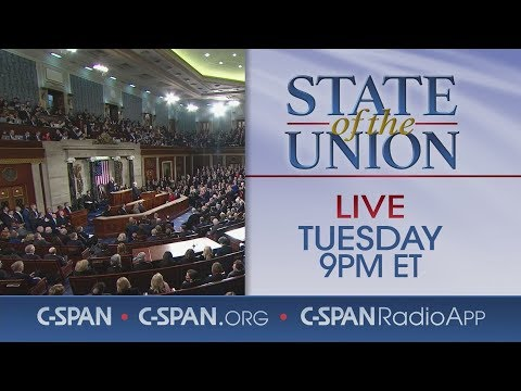LIVE: President Trump 2019 State of the Union Address & Democratic Response (C-SPAN)