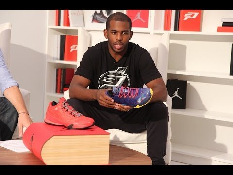 Jordan - A first look at the recently released Jordan CP3.VIII. The new shoe is set to launch on November 1st in the black/infrared 23/white and cool grey/white/black color way for $130. Subscribe...