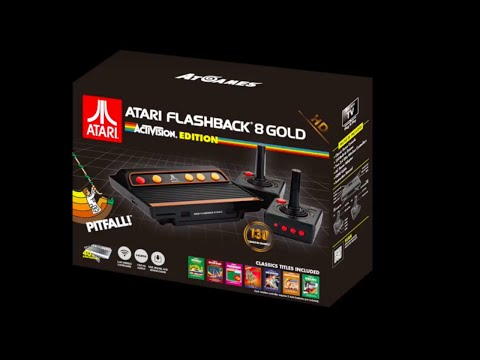Atari Flashback 8 Gold: Activision Edition Official Trailer