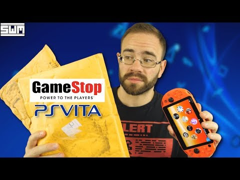 I Ordered PlayStation Vita Games From GameStop In 2019...And This Is What They Sent Me