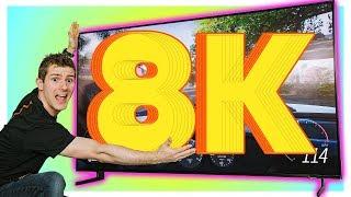 Video GAMING on The First 8K TV!!!! MP3, 3GP, MP4, WEBM, AVI, FLV Juni 2019