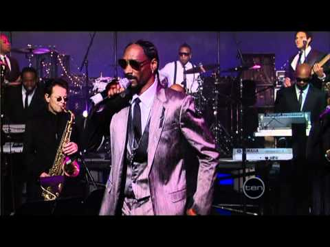 Snoop Dogg performs Get The Funk Out Of My Face [Live on David Letterman]