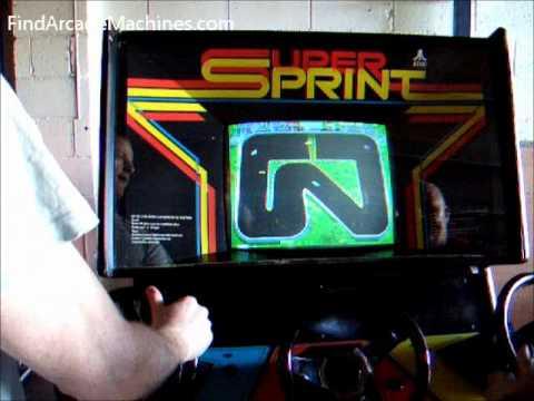 Super Sprint Atari