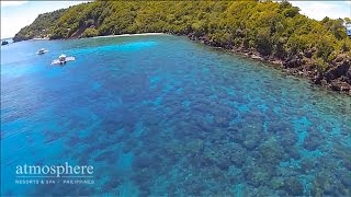 The Apo island movie: Stunning Apo Island with Atmosphere