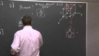 Exam 2, Problem 1 | MIT 3.091SC Introduction To Solid State Chemistry, Fall 2010