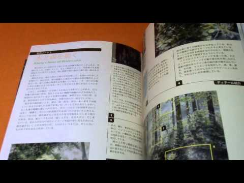 Watercolor Painting by Abe Toshiyuki : Seeking a Quiet Light book japanese (697) (видео)