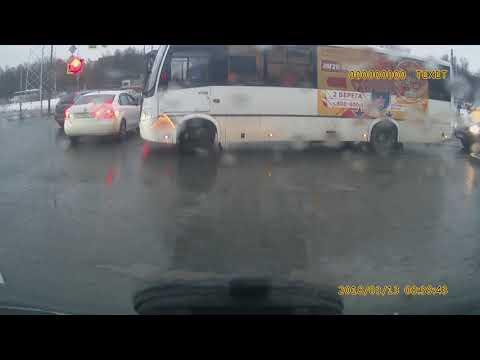 Разборки на дороге в Санкт Петербурге