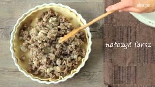 Zapiekanka z mięsem i ziemniakami - przepis