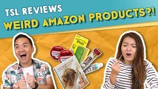 Video TSL Reviews: Weird Amazon Products! MP3, 3GP, MP4, WEBM, AVI, FLV Februari 2019