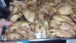 Freeze Drying Has Its Issues and Freeze Dried Chicken Thighs and Freeze Drying Problems