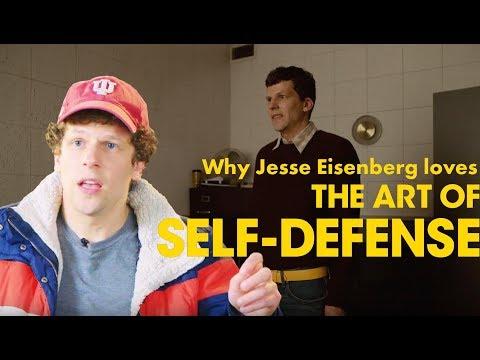 Jesse Eisenberg's favorite scene from THE ART OF SELF-DEFENSE